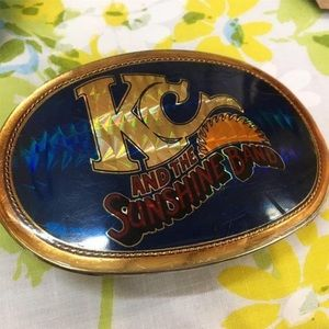 Other - 1970's KC And The Sunshine Band Belt Buckle